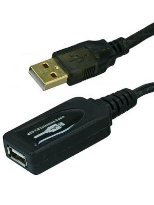 כבל USB מוגבר 30מטרים