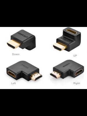 מתאם מאריך HDMI זוויות שונות 90 מעלות