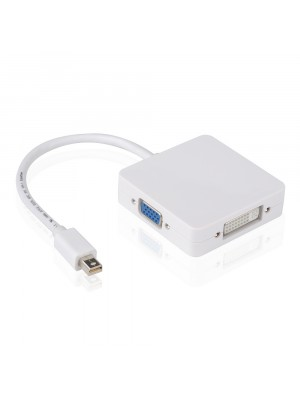 מתאם Mini Displayport ל HDMI + DVI + VGA