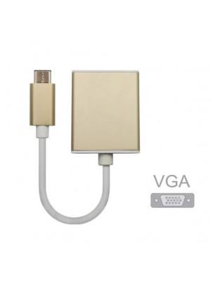 מתאם USB Type C ל VGA