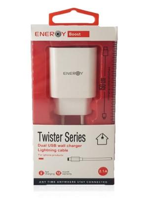 מטען איכותי לאייפון ENERGY TWISTER
