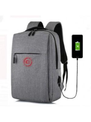 תיק גב למחשב נייד עד 15.6 עם חיבור USB