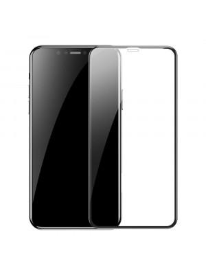 מגן מסך זכוכית לאייפון XS MAX איקס - כיסוי מלא