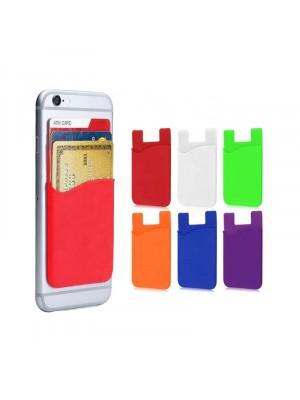מחזיק כרטיסי אשראי נצמד לכיסוי סלולרי