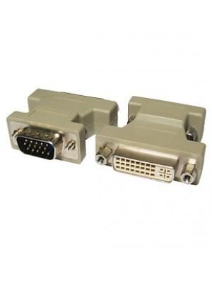 מתאם VGA זכר- DVI-I נקבה