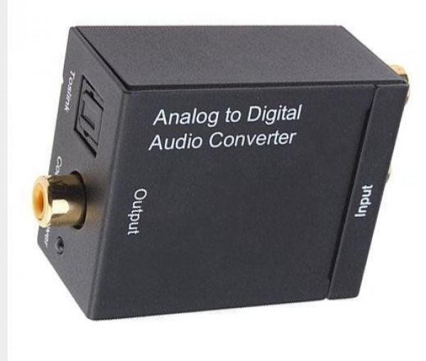מתאם אנלוגי RCA לדיגיטלי אופטי
